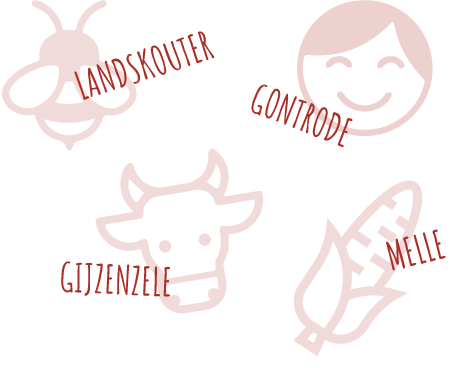De-Vierhoekhoeve-Vier-gemeentes-Landskouter-Gontrode-melle-Gijzenzele