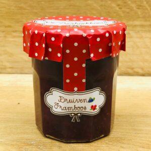 De Vierhoekhoeve Webshop Ambachtelijke Confituur Druiven Framboos