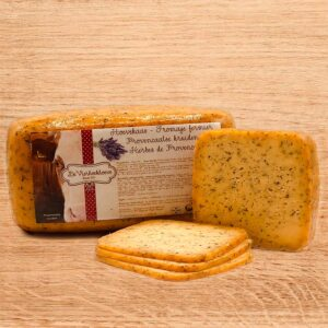 De Vierhoekhoeve Webshop Kazen Provençaalse Kruiden Houten Plank