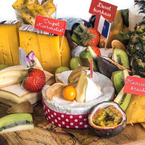 De Vierhoekhoeve Webshop Kaasschotel Met Fruit